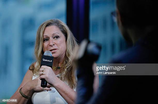 Filmmaker Abigail Disney discusses The Armor Of Light during AOL BUILD speaker series at AOL Studios In New York on October 29 2015 in New York City