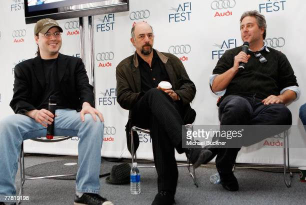 Filmmaker Adam Rifkin actor Richard Schiff and producer Brad Wyman attend the luncheon and dialogue event celebrating the film Look at the AFI FEST...