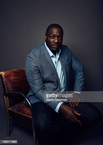 Filmmaker Adewale AkinnuoyeAgbaje from the film 'Farming' poses for a portrait during the 2018 Toronto International Film Festival at...
