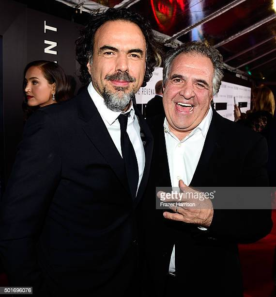 Filmmaker Alejandro Gonzalez Inarritu and Chairman and CEO of Fox Filmed Entertainment Jim Gianopulos attend the premiere of 20th Century Fox and...