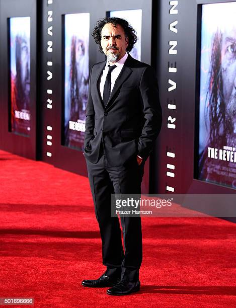 Filmmaker Alejandro Gonzalez Inarritu attends the premiere of 20th Century Fox and Regency Enterprises' The Revenant at the TCL Chinese Theatre on...