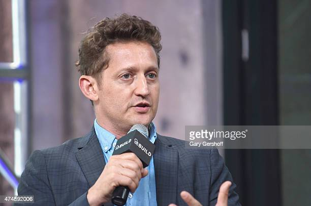 Filmmaker Alex Winter attends AOL BUILD Speaker Series Alex Winter at AOL Studios In New York on May 27 2015 in New York City