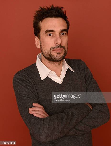 Filmmaker Alexandre Moors poses for a portrait during the 2013 Sundance Film Festival at the Getty Images Portrait Studio at Village at the Lift on...