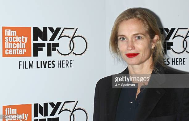 Filmmaker Alexis Bloom attends the 56th New York Film Festival NYFF Live Docs Talk at Elinor Bunin Munroe Film Center on October 6 2018 in New York...