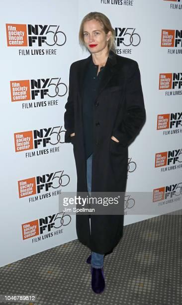 Filmmaker Alexis Bloom attends the 56th New York Film Festival NYFF Live Docs Talk at Elinor Bunin Munroe Film Center on October 6 2018 in New York...