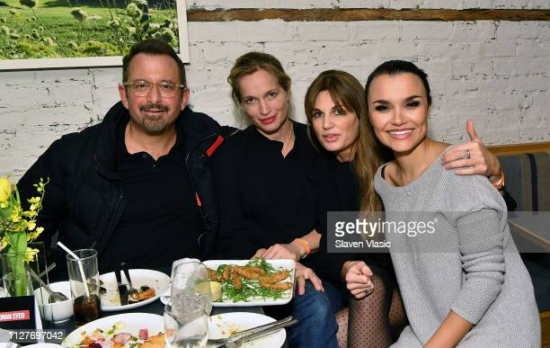 Filmmaker Alexis Bloom executive producer Jemima Khan and guests attend after party for NY premiere of HBO's The Case Against Adnan Syed at Loring...
