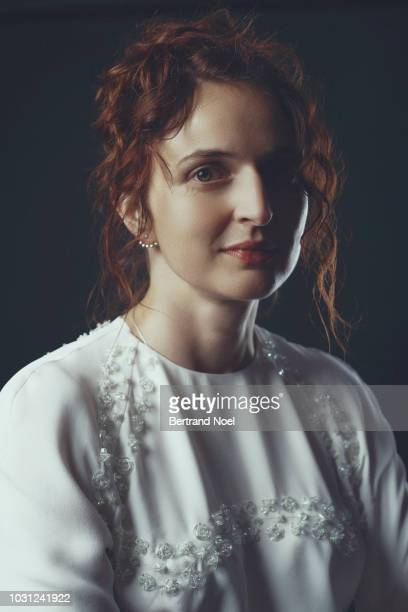 Filmmaker Alice Rohrwacher is photographed for Arte Magazine on May 2018 in Cannes France