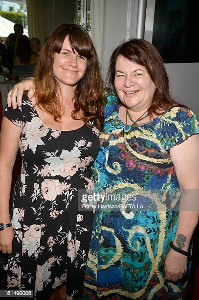 Filmmaker Allison Anders and daughter Tiffany Anders attend the BAFTA LA TV Tea 2013 presented by BBC America and Audi held at the SLS Hotel on...