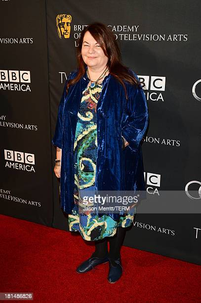 Filmmaker Allison Anders attends the BAFTA LA TV Tea 2013 presented by BBC America and Audi held at the SLS Hotel on September 21 2013 in Beverly...
