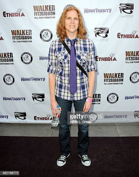 Filmmaker Amy Mullins arrives for the 2014 Etheria Film Night held at American Cinematheque's Egyptian Theatre on July 12 2014 in Hollywood California
