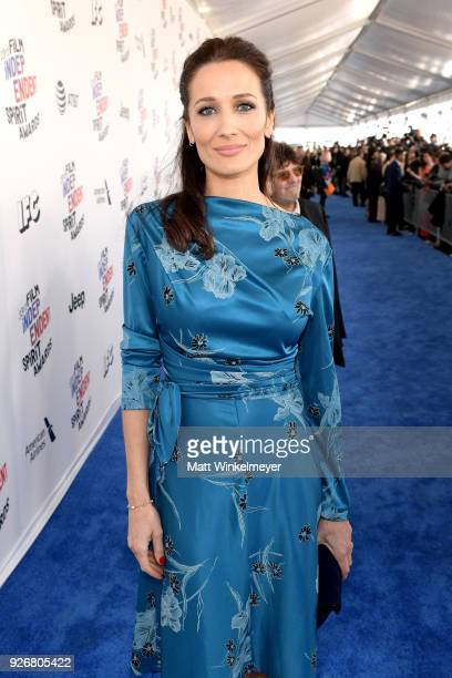 Filmmaker Ana Asensio attends the 2018 Film Independent Spirit Awards on March 3 2018 in Santa Monica California