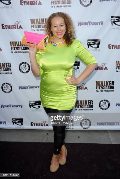 Filmmaker Anastasia Washington arrives for the 2014 Etheria Film Night held at American Cinematheque's Egyptian Theatre on July 12 2014 in Hollywood...
