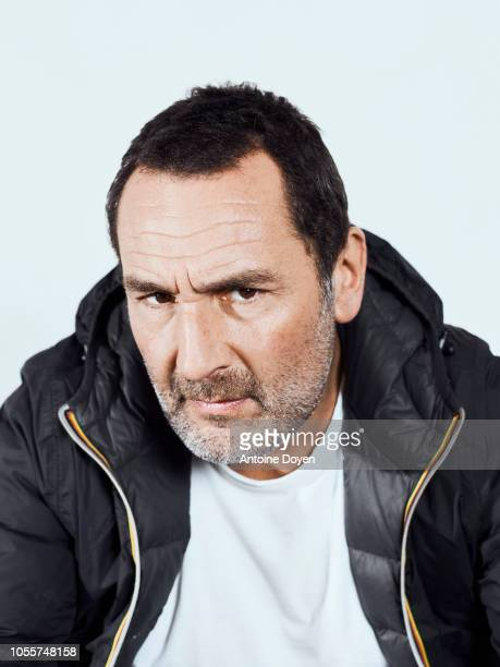 Filmmaker and actor Gilles Lellouche is photographed for L'Express on September 2018 in Paris France