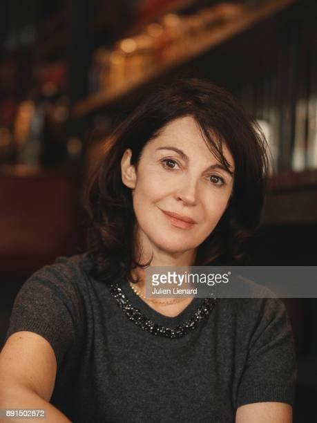 Filmmaker and Actress Zabou Breitman is photographed for Self Assignment in November 2017 in Paris France