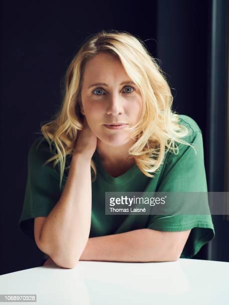 Filmmaker and dancer Andrea Bescond poses for a portrait on November 15 2018 in Paris France