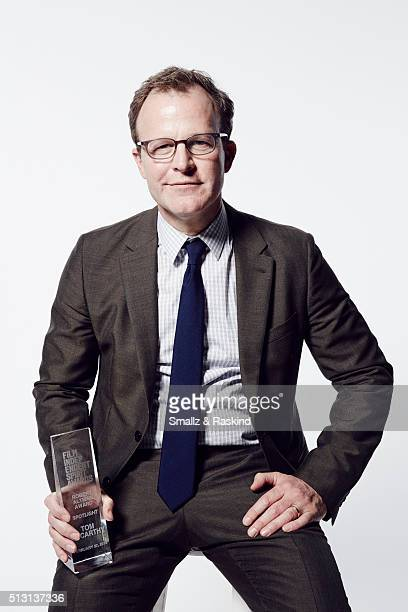 Filmmaker and director Tom McCarthy poses for a portrait at the 2016 Film Independent Spirit Awards after winning the Robert Altman Award for...
