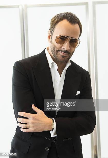 Filmmaker and fashion designer Tom Ford is photographed for Los Angeles Times on November 21 2016 in Los Angeles California PUBLISHED IMAGE CREDIT...