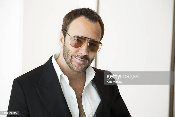 Filmmaker and fashion designer Tom Ford is photographed for Los Angeles Times on November 21, 2016 in Los Angeles, California. PUBLISHED IMAGE....