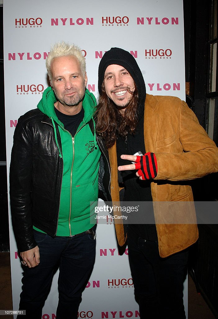 Filmmaker and Nylon Magazine Editor Marvin Scott Jarrett and musician Cisco Adler attend the Nylon Magazine and Hugo Boss Party for 'The Horrors' at Boost Mobile Lounge at Marquee on January 18, 2008 in Park City, Utah.