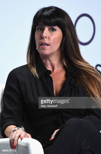 Filmmaker and screenwriter Patty Jenkins speaks on stage during the 2017 Forbes Women's Summit at Spring Studios on June 13 2017 in New York City