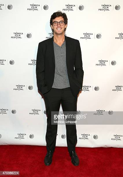 Filmmaker Andrew Jenks attends the premiere of dream/killer during the 2015 Tribeca Film Festival at Chelsea Bow Tie Cinemas on April 19 2015 in New...