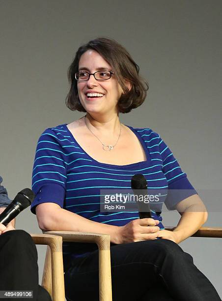 Filmmaker Anna Boden attends Meet The Actor Ryan Reynolds 'Mississippi Grind' at Apple Store Soho on September 21 2015 in New York City