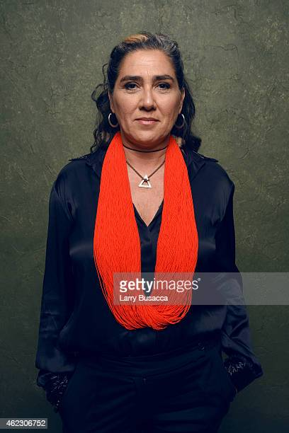 filmmaker Anna Muylaert of 'The Second Mother' poses for a portrait at the Village at the Lift Presented by McDonald's McCafe during the 2015...