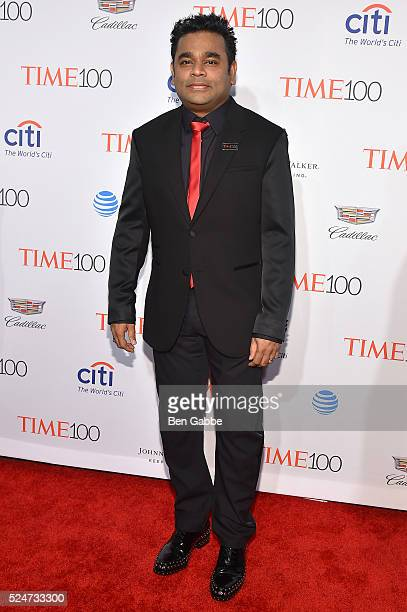 Filmmaker AR Rahman attends 2016 Time 100 Gala Time's Most Influential People In The World at Jazz At Lincoln Center at the Times Warner Center on...