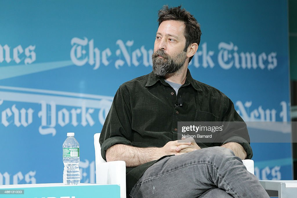 Filmmaker Ari Handel participates in a panel discussion at the New York Times Cities for Tomorrow Conference on April 22, 2014 in New York City.