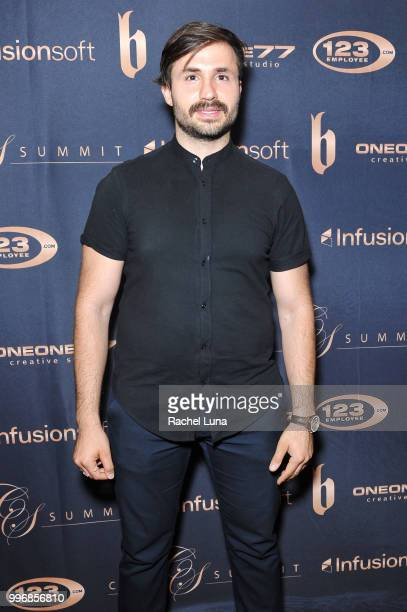 Filmmaker Arian Khoroushi attends City Summit Wealth Mastery And Mindset Edition afterparty at Allure Banquet Catering on July 11 2018 in Van Nuys...