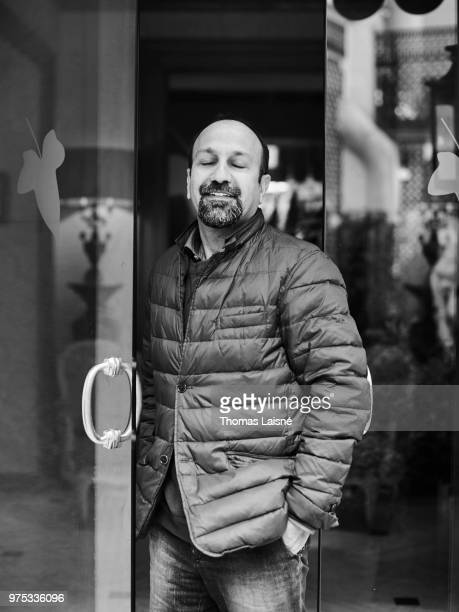 Filmmaker Asghar Farhadi is photographed for Self Assignment on April 2018 in Paris France