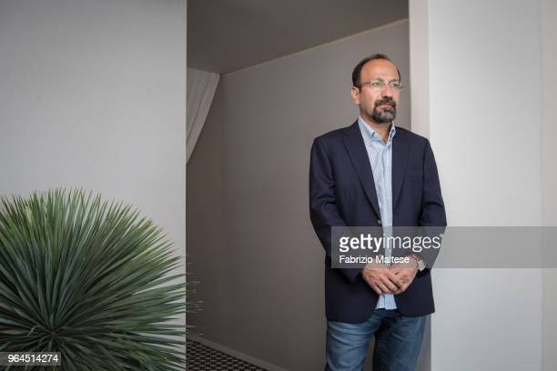 Filmmaker Asghar Farhadi is photographed for The Hollywood Reporter on May 2018 in Cannes France