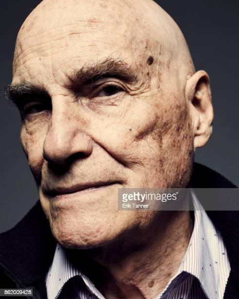 Filmmaker Barbet Schroeder of 'The Venerable W' poses for a portrait at the 55th New York Film Festival on October 13 2017