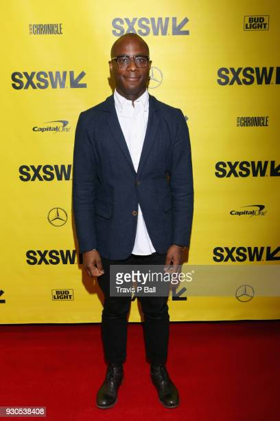 Filmmaker Barry Jenkins attends the Film Keynote during SXSW at Austin Convention Center on March 11 2018 in Austin Texas