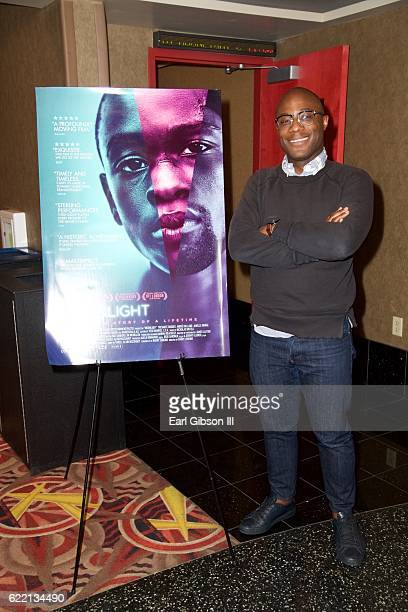 Filmmaker Barry Jenkins attends the ICON MANN Host Special Screening and QA of Moonlight at AMC Century City 15 theater on November 9 2016 in Century...