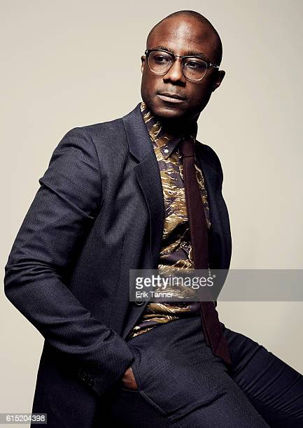 Filmmaker Barry Jenkins poses for a portrait during the 54th New York Film Festival at Lincoln Center on October 2 2016 in New York City