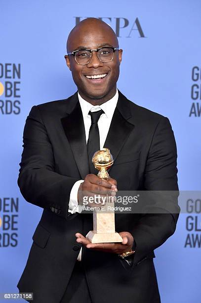 Filmmaker Barry Jenkins poses in the press room during the 74th Annual Golden Globe Awards at The Beverly Hilton Hotel on January 8 2017 in Beverly...
