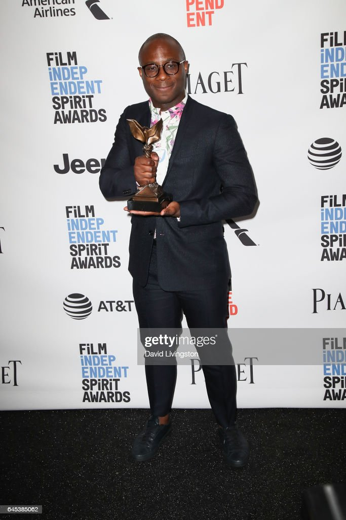 Filmmaker Barry Jenkins, winner of the Best Director award for 'Moonlight,' poses in the press room during the 2017 Film Independent Spirit Awards on February 25, 2017 in Santa Monica, California.