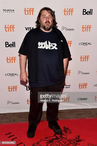 Filmmaker Ben Wheatley attends the 'Free Fire' premiere during the 2016 Toronto International Film Festival at Ryerson Theatre on September 8 2016 in...
