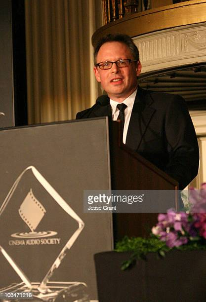 Filmmaker Bill Condon attends the 44th Annual Cinema Audio Society Awards at the Millennium Biltmore Hotel on February 16 2008 in Los Angeles...