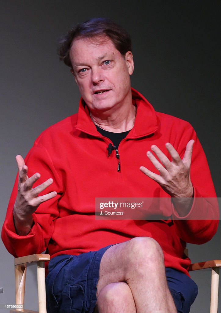 Filmmaker Bill Plympton speaks during the Apple Store Soho Presents: Meet The Filmmaker series at the Apple Store Soho on March 26, 2015 in New York City.