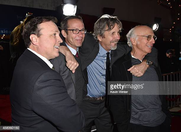 Filmmaker Bobby Farrelly Richard Lovett filmmaker Peter Farrelly and Larry David attend the premiere of Universal Pictures and Red Granite Pictures'...