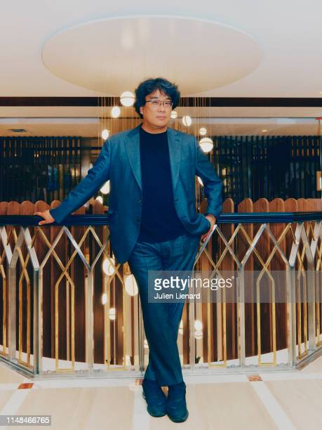 Filmmaker Bong Joonho poses for a portrait on May 20 2019 in Cannes France