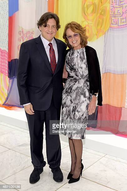 Filmmaker Cameron Crowe and Hammer Museum Director Ann Philbin attend the Hammer Museum's 12th annual Gala in the Garden with generous support from...