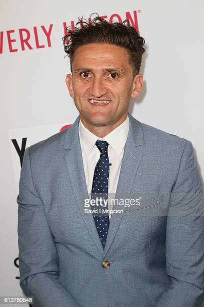 Filmmaker Casey Neistat arrives at the 2016 Streamy Awards at The Beverly Hilton Hotel on October 4, 2016 in Beverly Hills, California.