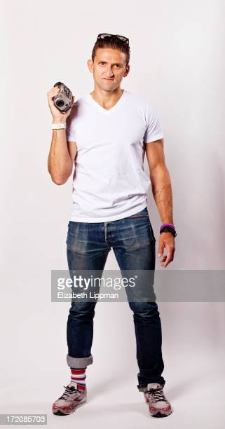 Filmmaker Casey Neistat is photographed for Ad Week on June 4 2013 in New York City PUBLISHED IMAGE
