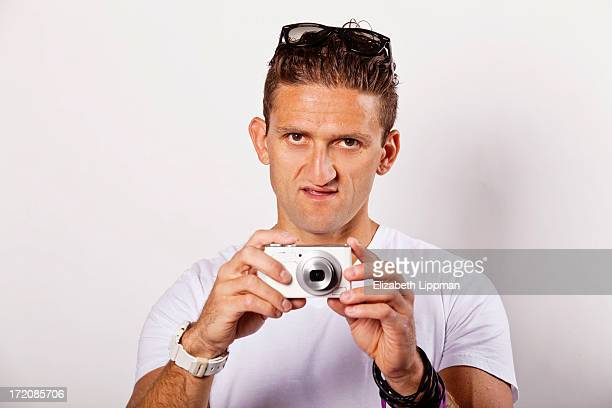 Filmmaker Casey Neistat is photographed for Ad Week on June 4 2013 in New York City