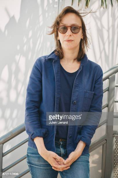 Filmmaker Celine Sciamma is photographed for Self Assignment on May 19 2017 in Cannes France