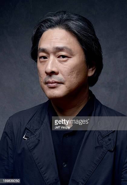 Filmmaker Chanwook Park poses for a portrait during the 2013 Sundance Film Festival at the WireImage Portrait Studio at Village At The Lift on...