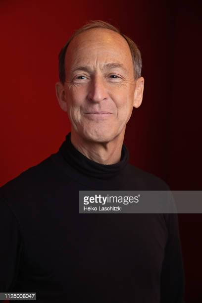 Filmmaker Charles Henry Ferguson poses for a portrait during the 69th Berlinale International Film Festival on February 12 2019 in Berlin Germany